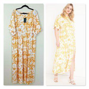 ELOQUII Dolman Sleeve Maxi Dress Plus 18 NWT